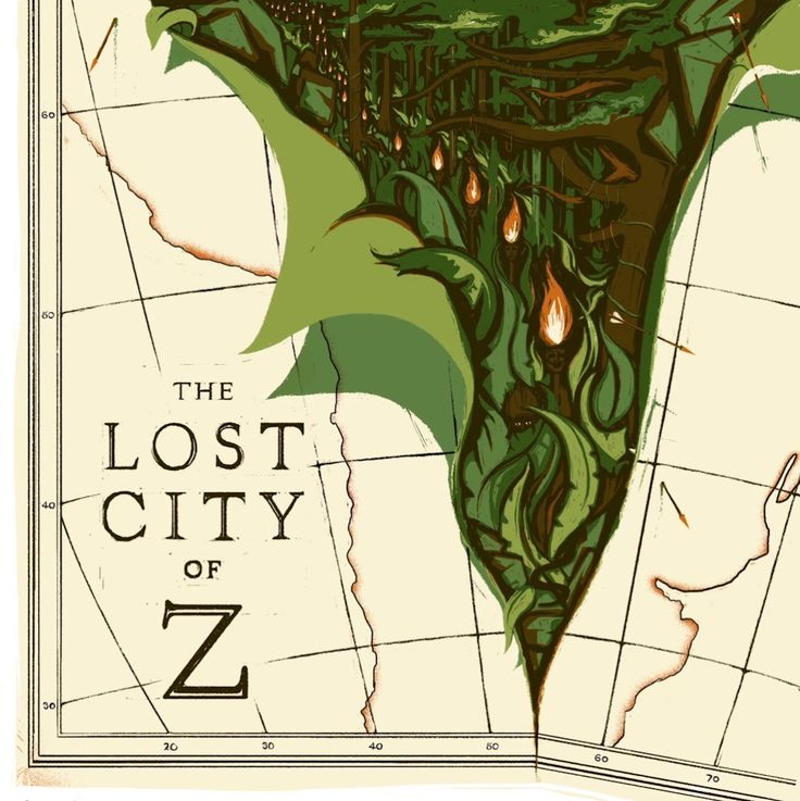 Final animated artwork for STUDIOCANAL celebrating the UK cinema release of The Lost City of Z. Hit the HD button for unpixley playback :)