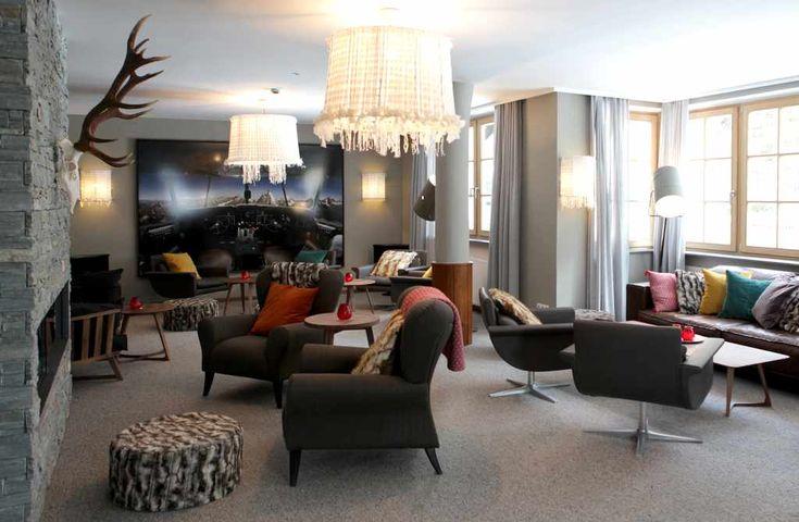 VALLUGA Hotel in St. Anton, der Sonnenskilauf ist gesichert