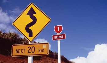 Getting around New Zealand, driving routes