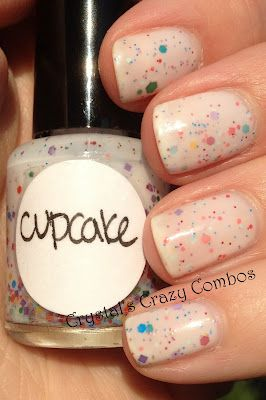 Crystal's Crazy Combos: Imperial Nail Lacquer - Cupcake