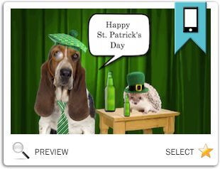 Build your own St. Patricks Day ecard
