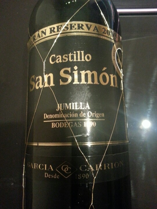 Castillo San Simón Gran Reserva 2003 (DO Jumilla)