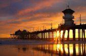 Visit the pier of my childhood. Huntington Beach Pier.