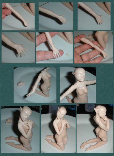 TUTORIAL-Sculpting a Polymer Clay Doll - manosalaobratv