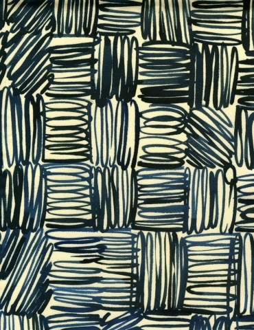 Luli Sanchez--inspiration for possible drawing project. Grid line design.