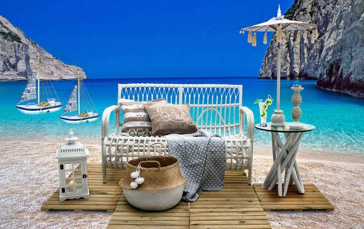 Month's inspiration August 2016 | Summer's in the house! Unique outdoor furniture choices.
