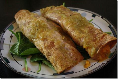 butternut squash enchiladas | Recipes to Try | Pinterest