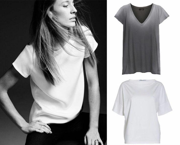 Highstreet vs. luksus: Den perfekte basic T-shirt   Stylista.dk