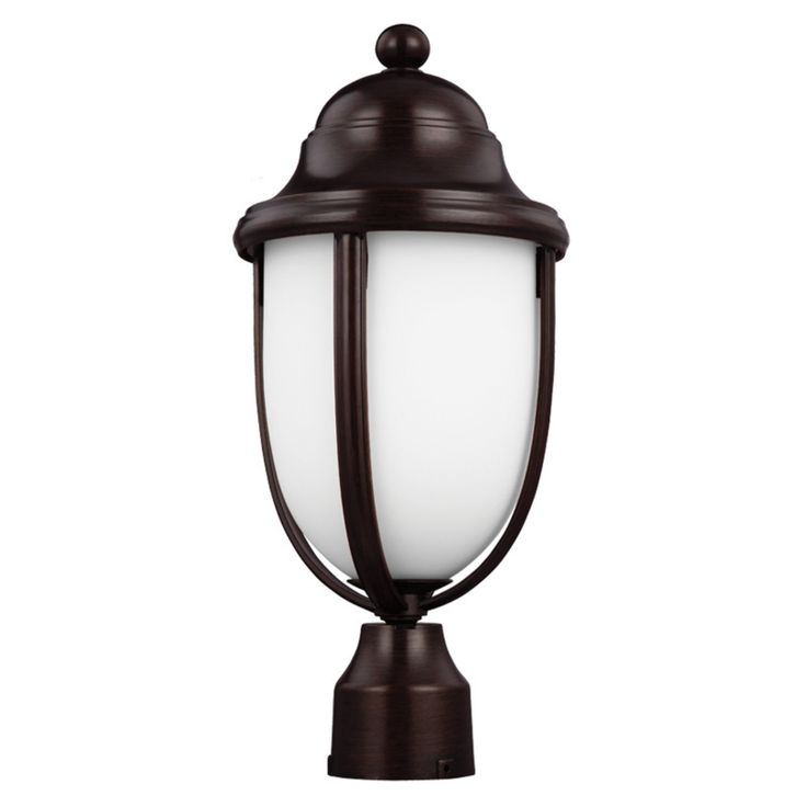 Feiss Vinter OL10107HTBZ Outdoor Post Lantern - OL10107HTBZ