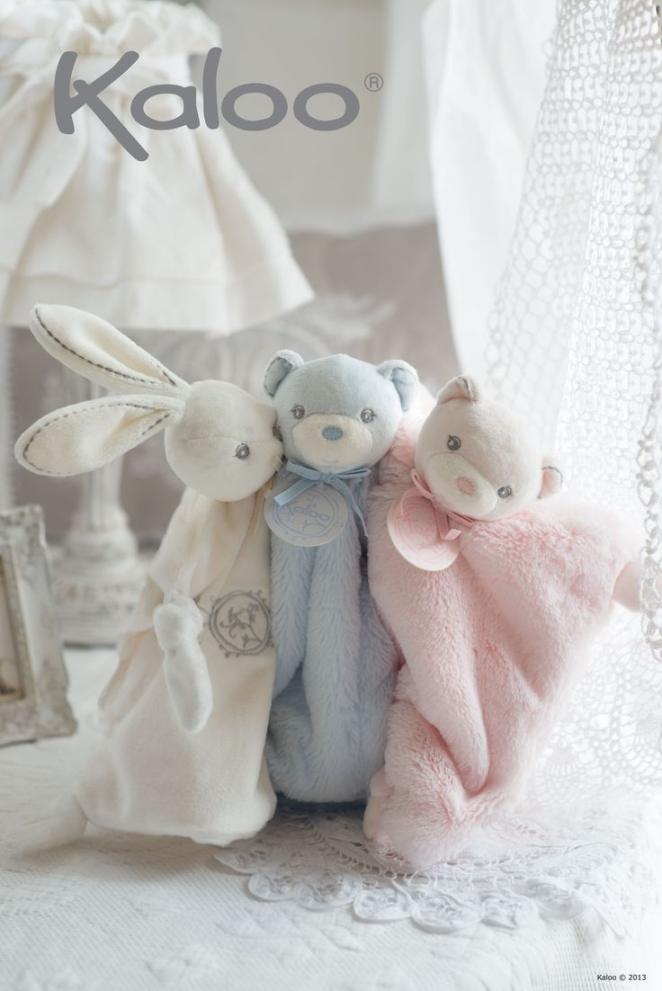 Peluches Kaloo - collection Perle