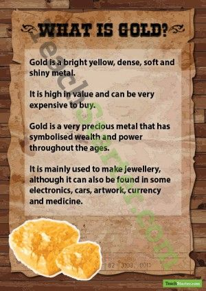 What is Gold Poster
