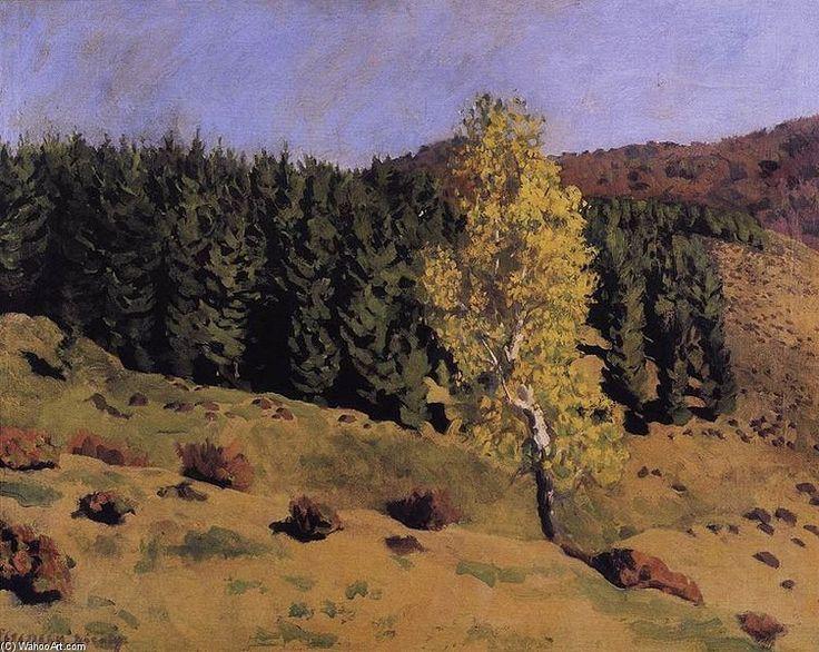 Paysage de Karoly Ferenczy (1862-1917, Hungary)