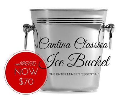 SPECIAL OFFER: Cantina Classico Ice Bucket NOW $70 (was $89.95) #icebucket #specialoffers #giftsformen