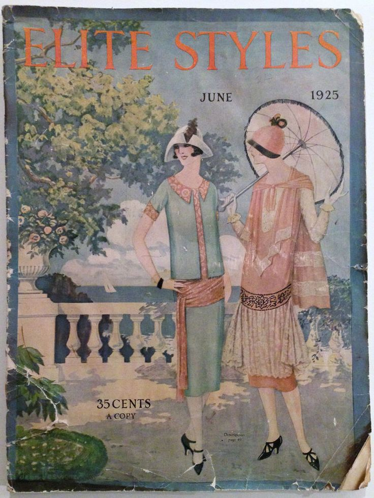 Jazz Age Fashion Magazines And Flappers On Pinterest
