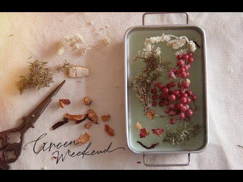 香りのワックスバーのつくりかた –Flavor Wax Bar–【Green Weekend】 - YouTube