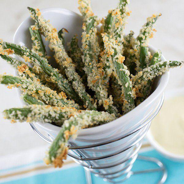 Recipe: Crispy Green Bean Fries 8 SP/serving