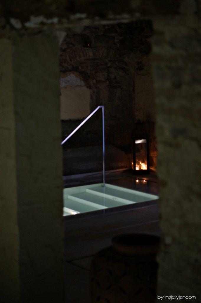 Mega entspannend: Aire Spa & Ancient Baths im Biohotel Mas Salagros - nahe Barcelona, Spanien