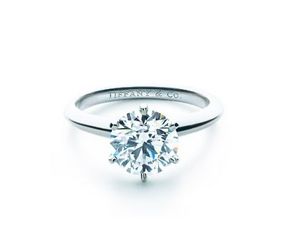 This is truly my dream engagement ring. It's so simple and beautiful. But, it doesn't have to be from Tiffany's. :)