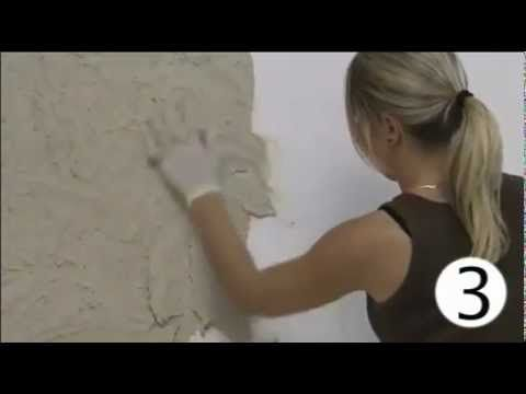 ❤Video on making a wall look like stone.❤ Декоративная штукатурка Senipierre - YouTube