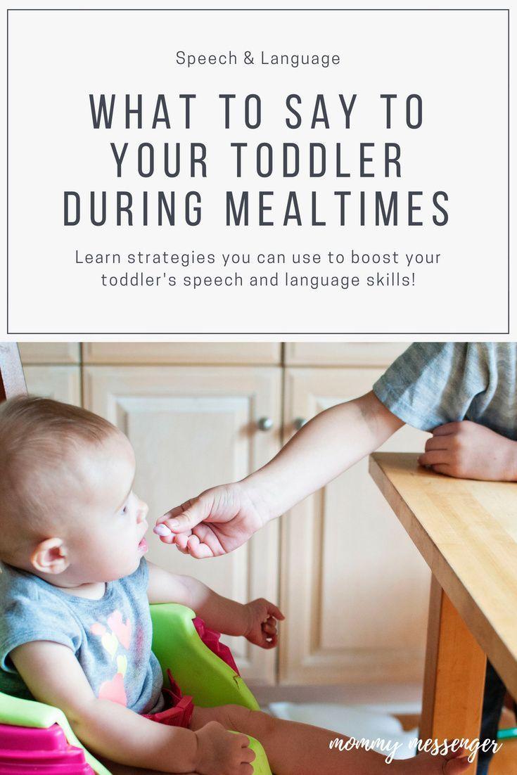 3 Sure Fire Ways To Boost Language During Mealtimes Kids Behavior Toddler Speech Kids Parenting