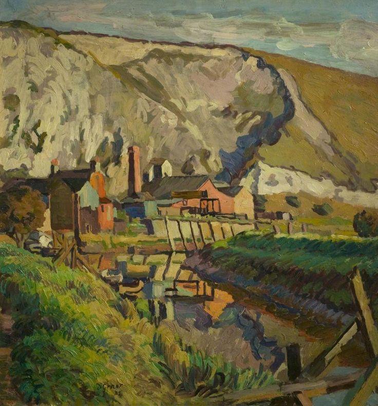 Duncan Grant - Lewes Landscape 1933