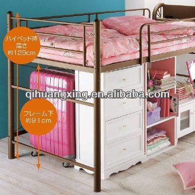 adult single beds for sale/cheap adult loft bed with desk $50~$150