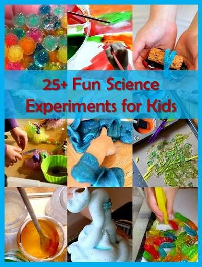 **25+ Fun Science Experiments for Kids