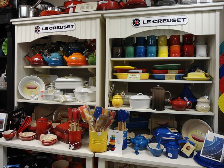 Le Creuset cookware available at Culinary Poet!