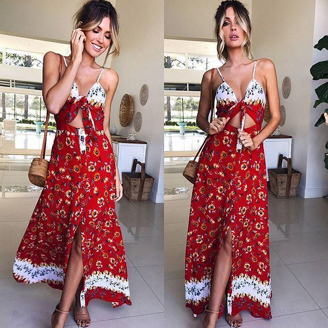 WEBSTA @mura_boutique Perfect picnic attire🍓☀️Shop the Monday Mornings Dress via new arrivals!