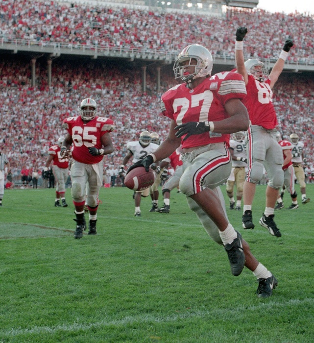 RB - Eddie George #27, Heisman Trophy Winner.