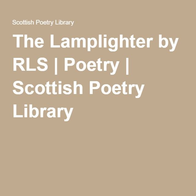 372 best images about all things scottish on pinterest for Lamp light poem