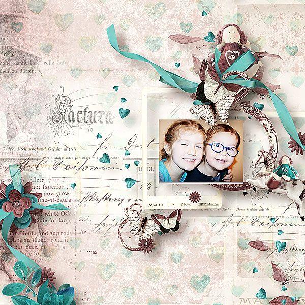 For my Little girl by ditab Designs @ oscrapscom