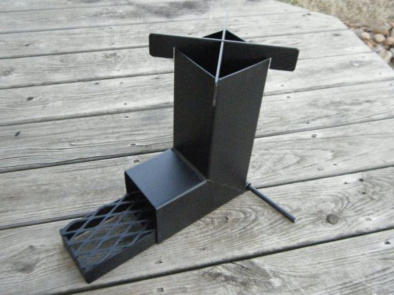 Rocket Stove For Camping Hunting Prepper Scouts Survival