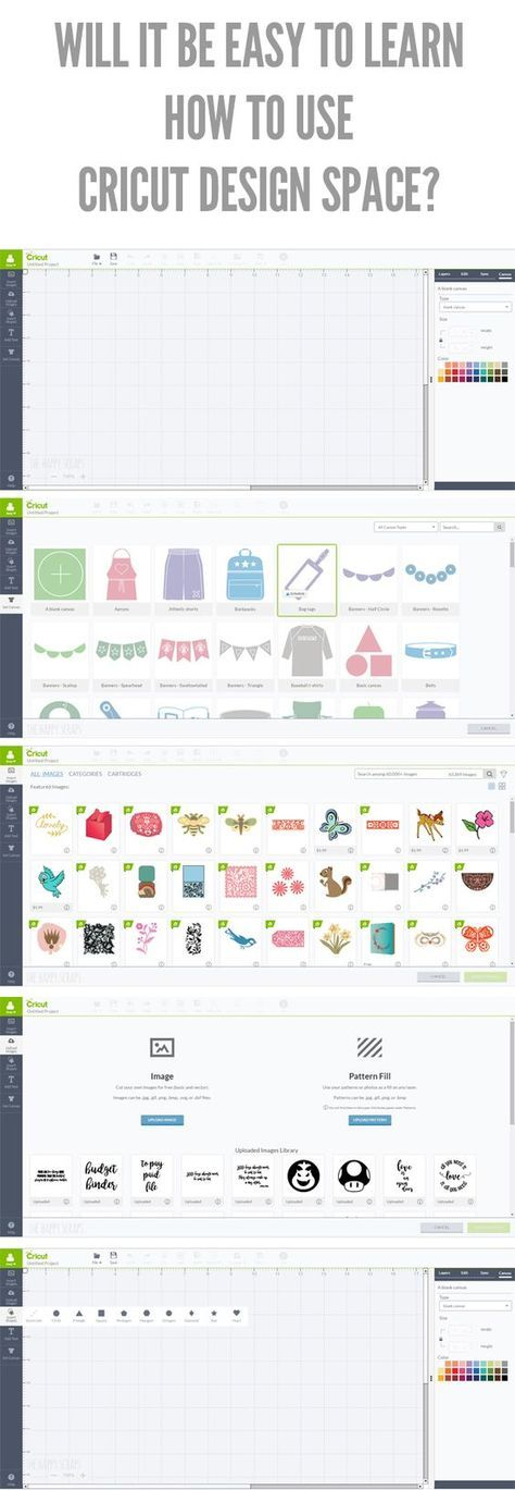 Will It Be Easy to Learn How to Use Cricut Design Space? YES! Learn how easy it is to use your Cricut Explore Air machine along with Cricut Design Space. #cricutmade