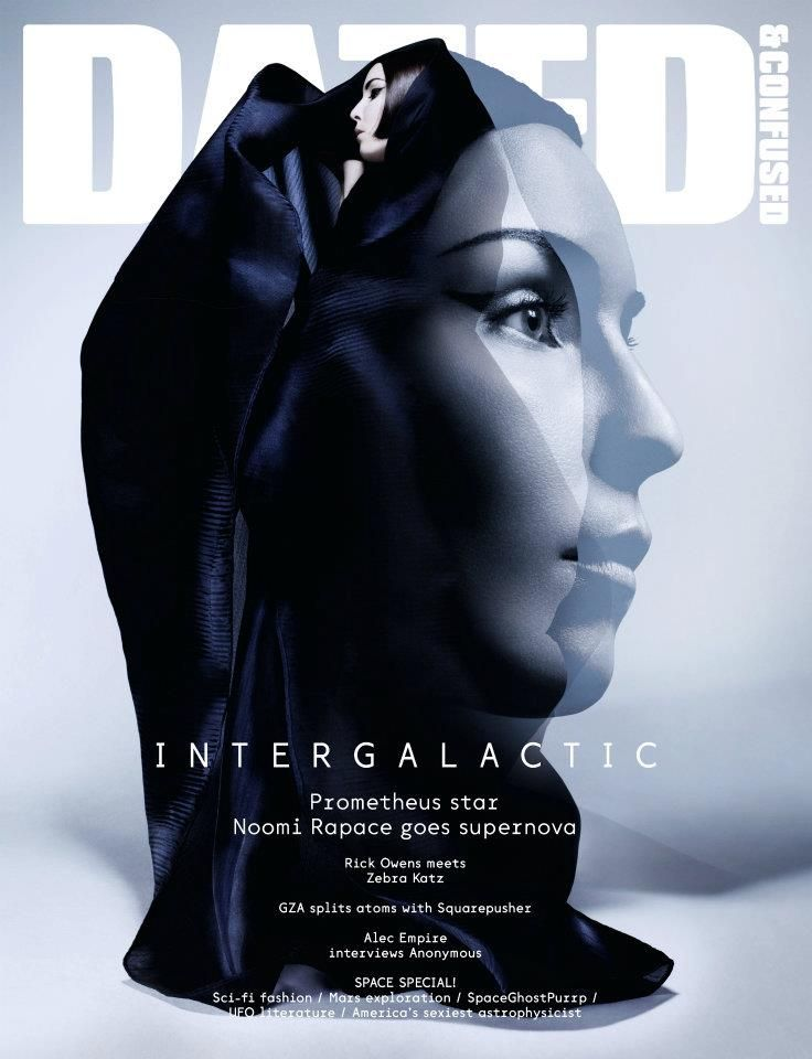 Dazed & Confused - Noomi Rapace cover