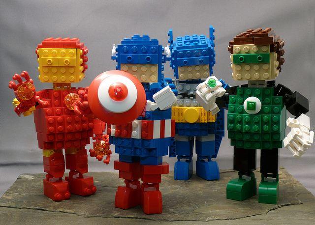 Build your own Lego Avatar.