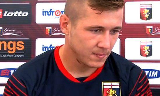 Juraj Kucka infortunato, fuori dal campo del Genoa per quattro mesi