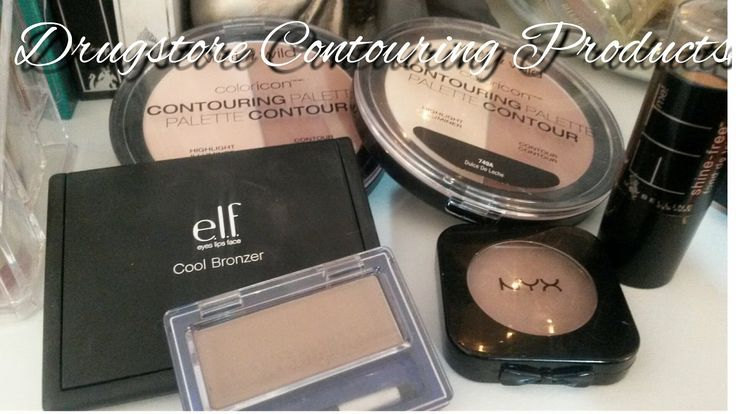 Drugstore Contour Products for Fair Skin (with swatches!)