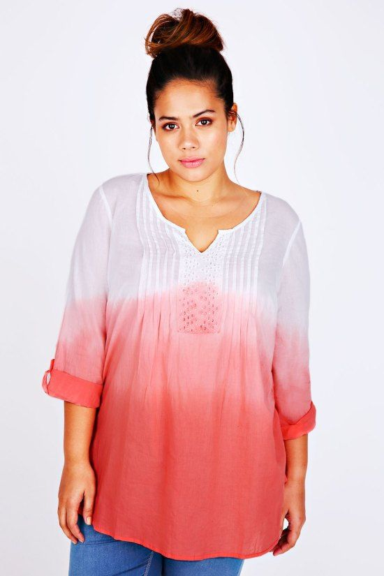 36 Plus Size Summer Tops with Sleeves