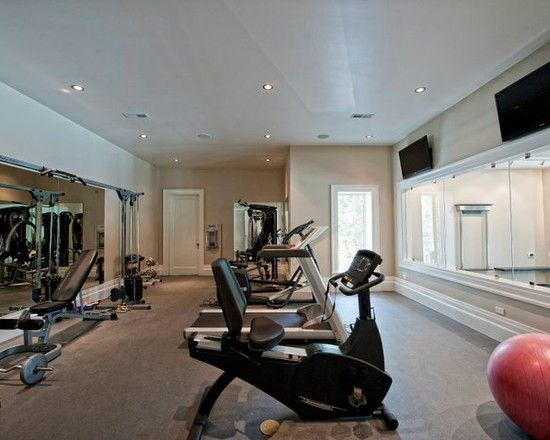 Home Gym Design, Pictures, Remodel, Decor And Ideas   Page 25