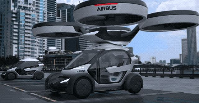 Airbus has been talking about its Vahana flying autonomous vehicle project for a while now, but at this year's Geneva Motor Show, it's showing off a concept..
