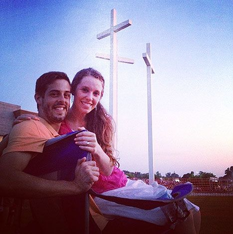 Jill Duggar, Derick Dillard Lunch Date at His Workplace: Pictures - Us Weekly