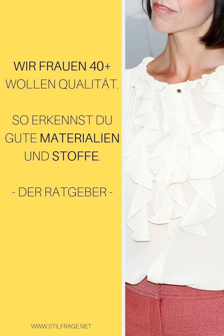 Ratgeber: So erkennst du die Qualität von Kleidung – Stilfrage   Stilberatung mit Bianca Stäglich   Privat & Business