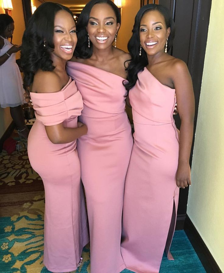 This would be a great bridesmaid dress in peach.
