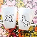 State or Country Heart Mugs - Going Away Present, Moving Away, Long Distance Relationship, etc.