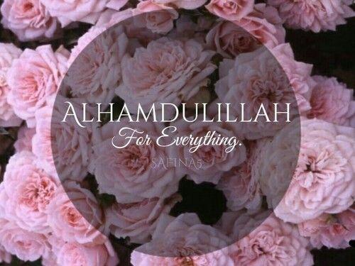 Al hamdoulilah