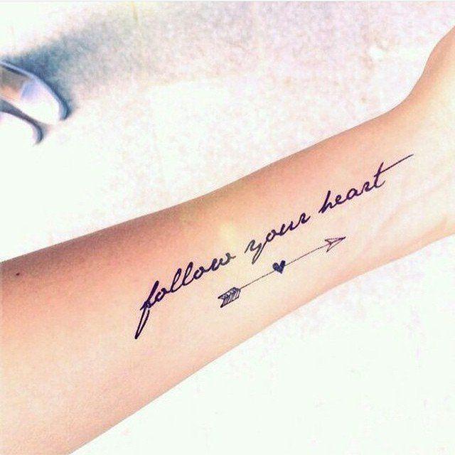 Quote Tattoos | POPSUGAR Smart Living On wrist though