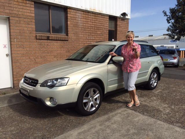 Ruth picked up her Subaru outback today. A great client, thanks for visiting www.motorvehiclewholesale.com