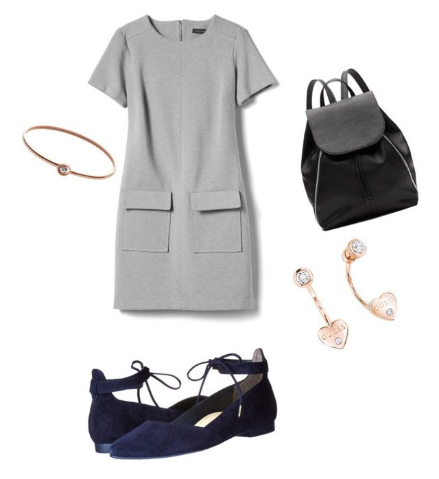 """""""Untitled #3"""" by madalina-diaconu on Polyvore featuring Banana Republic, Paul Green, Witchery, FOSSIL and GUESS"""