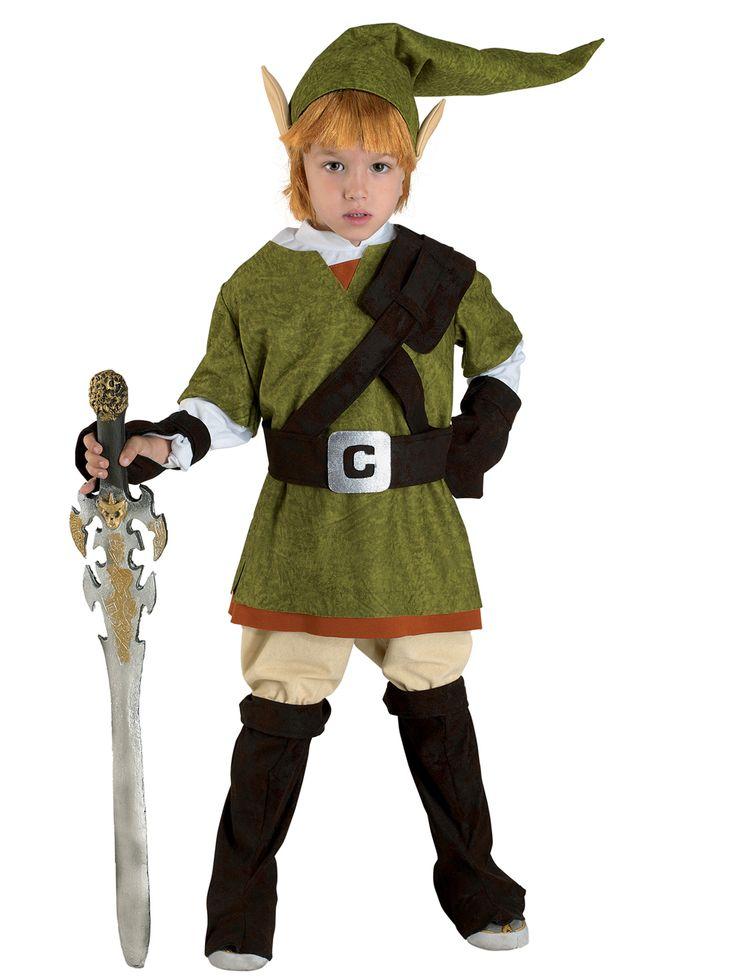 Elfenjunge Märchen Kinderkostüm grün , günstige Faschings  Kostüme bei Karneval Megastore, der größte Karneval und Faschings Kostüm- und Partyartikel Online Shop Europas!